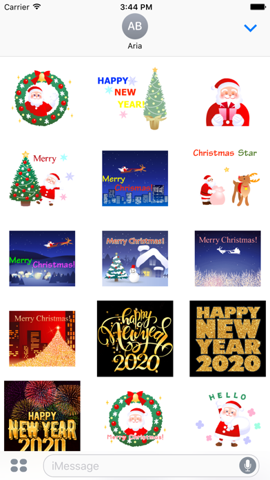 Animated Merry Christmas Pack screenshot 2