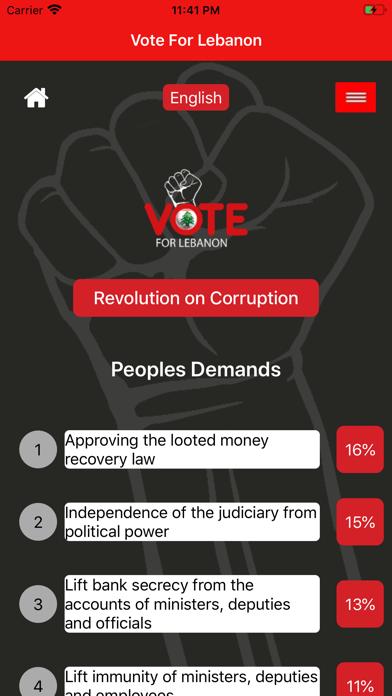 Vote For Lebanon screenshot 4