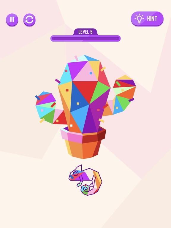 Chameleon Puzzle Game screenshot 6