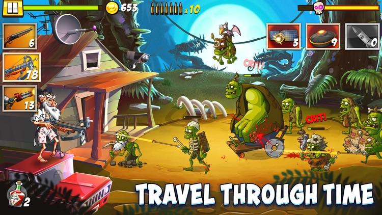ZombieSmash: Time Travel screenshot-4