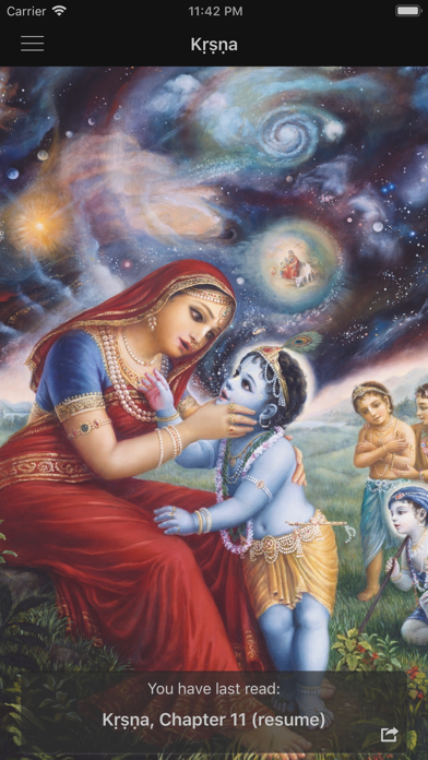 Screenshot for Kṛṣṇa in Sweden App Store