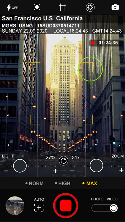 BINOCULARS  35X GPS STAMP screenshot-3