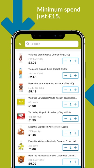 Ocado Zoom grocery delivery screenshot three