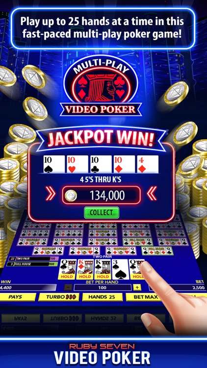 Video Poker by Ruby Seven screenshot-4