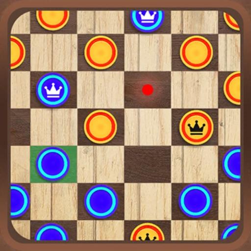 Checkers Master Board Game