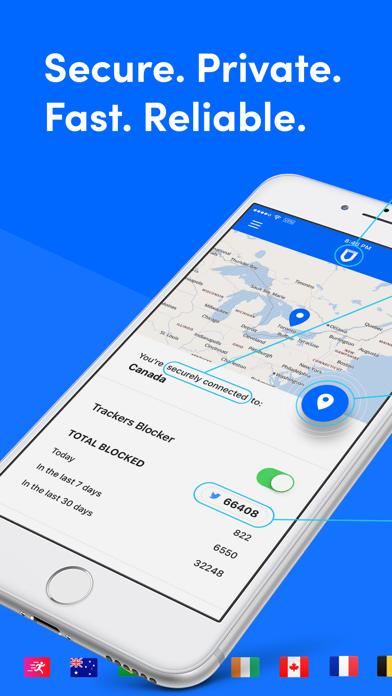SurfEasy VPN - WiFi Proxy ScreenShot0