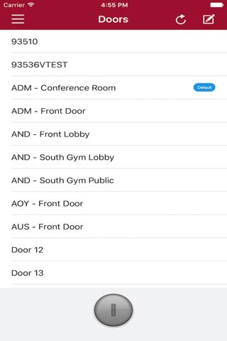 Mobile Credential - náhled