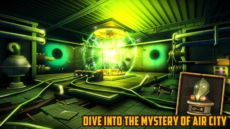 Escape Machine City: Airborne screenshot-0