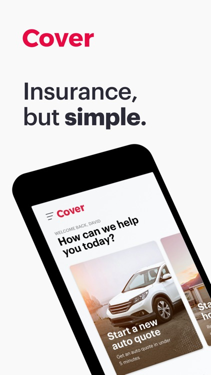 Cover - Insurance in a snap screenshot-0