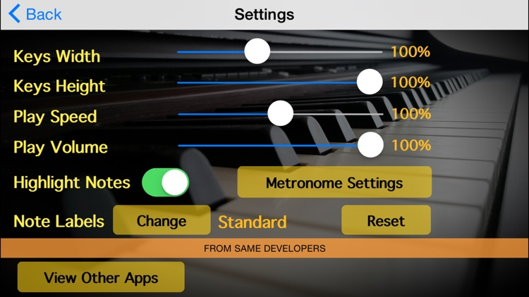 Piano Scales & Chords screenshot-3