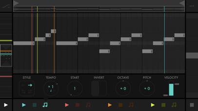 Screenshot #3 pour Fugue Machine : MIDI Sequencer