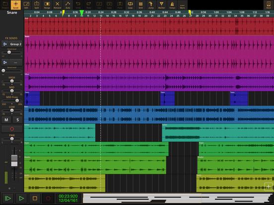 Screenshot #4 pour Audio Evolution Mobile Studio