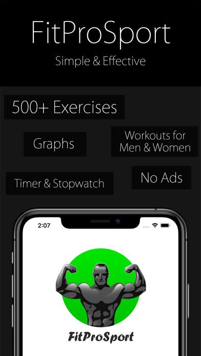Fitness Coach FitProSport FULLのおすすめ画像1