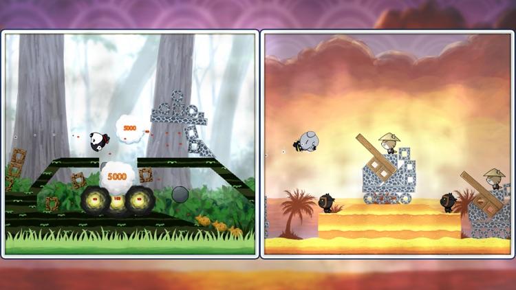 Ninja Dogs: Slingshot Shooter screenshot-3