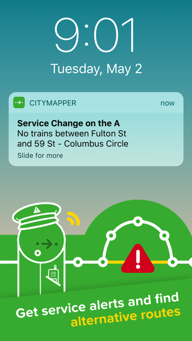 Screenshot for Citymapper in United States App Store