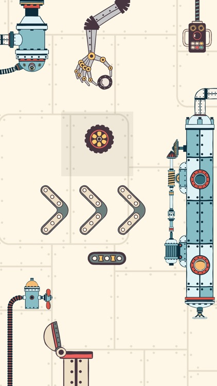 Steampunk Puzzle Physics Game