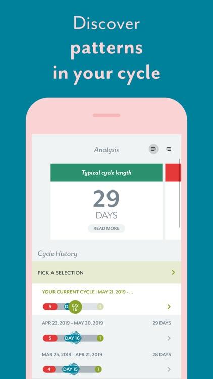 Clue Period & Cycle Tracker screenshot-5