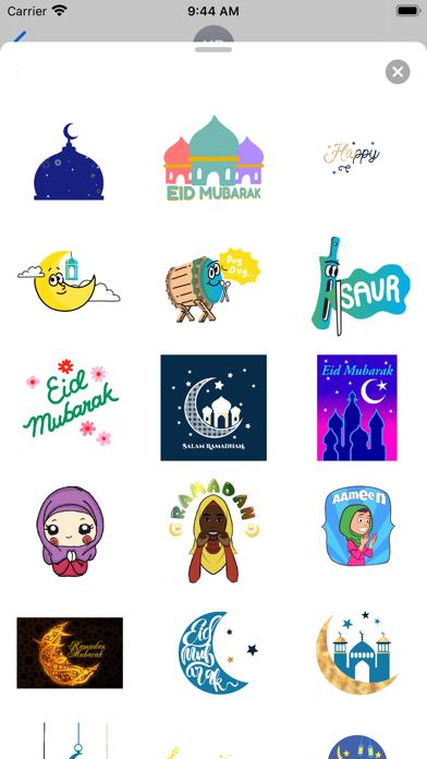 Animated Eid al-Fitr Sticker screenshot 2