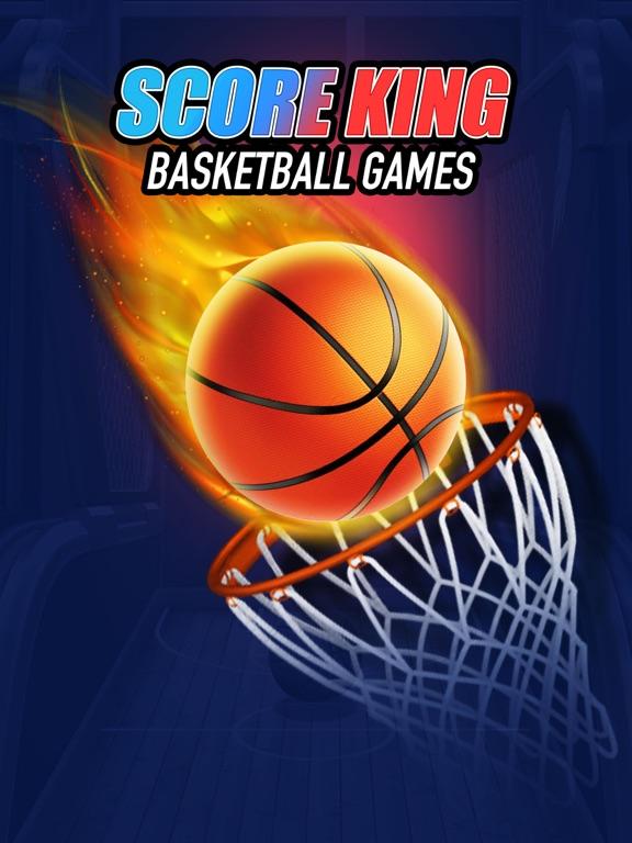 Score King-Basketball Games 3Dのおすすめ画像1