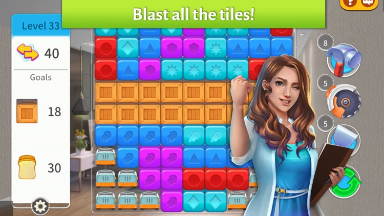 Home Designer Match Blast screenshot-4