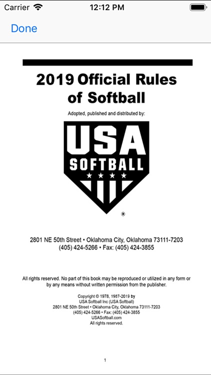 USA Softball 2019 Rulebook screenshot-4