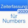 Zeiterfassung 2020 für Numbers
