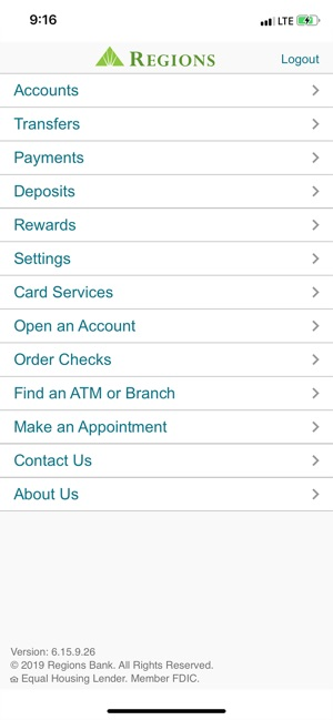 Regions Mobile on the App Store