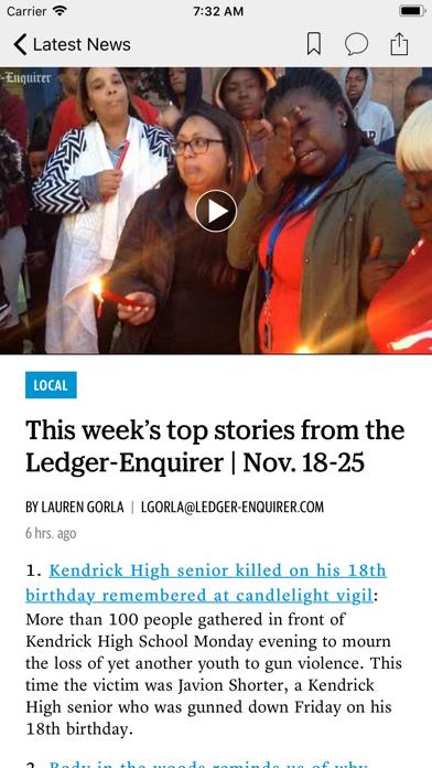 Ledger-Enquirer News Screenshot