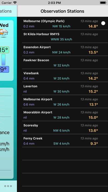 Oz Weather Plus screenshot-4