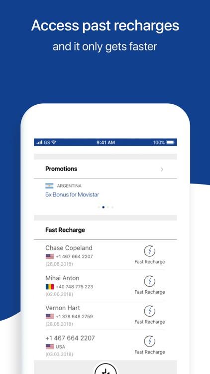 MobileRecharge: Top up mobiles screenshot-7