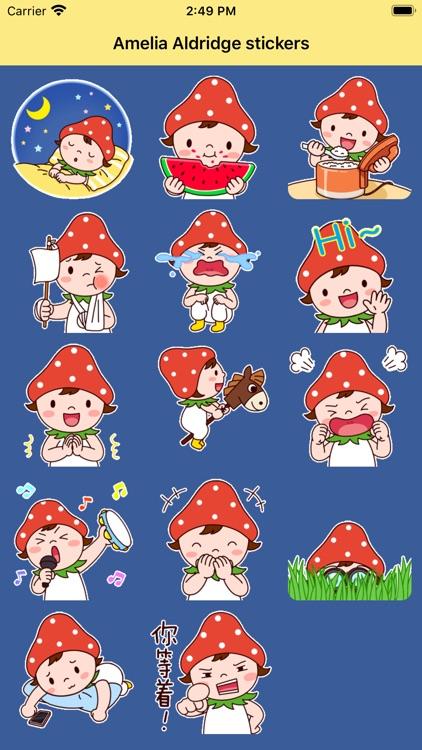 Amelia Aldridge stickers