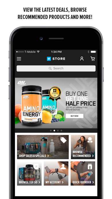 Bodybuilding.com - Supplement Store for Fitness Enthusiasts screenshot