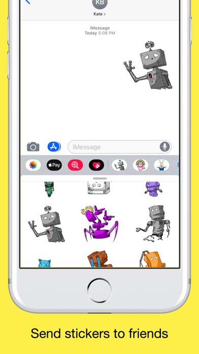 Robots - Emoji and Stickers screenshot 4