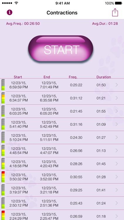 My Contraction Tracker screenshot-4