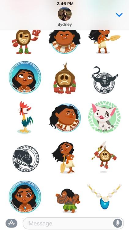 Disney Stickers: Moana screenshot-4