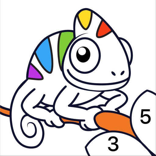 Chamy - Color by Number iOS App