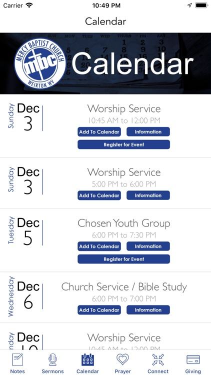 Mercy Baptist Church screenshot-3