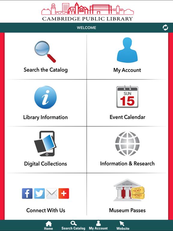 Minuteman Library Network screenshot
