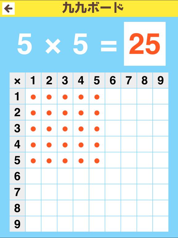 かけ算・九九を覚えようのおすすめ画像4