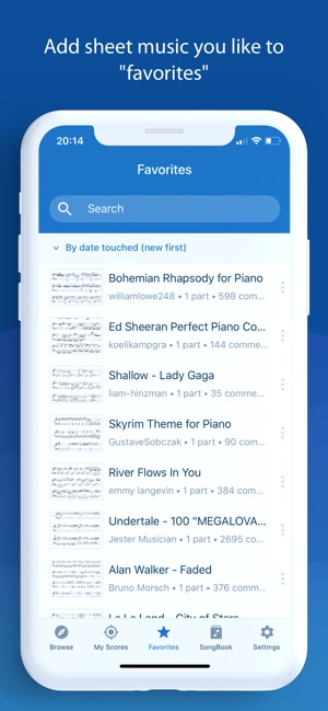 MuseScore: sheet music on the App Store