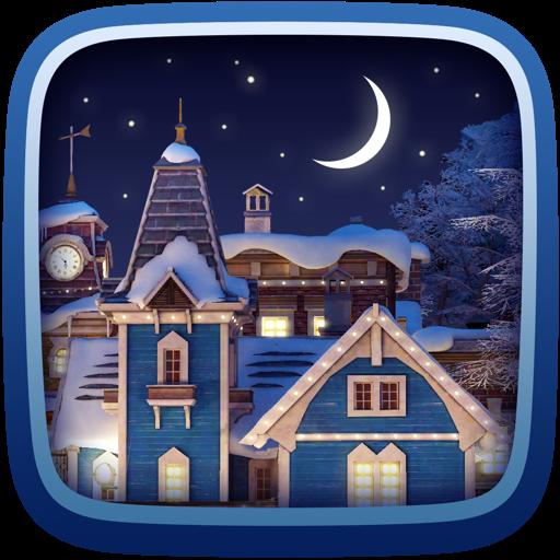 Snow Village 3D