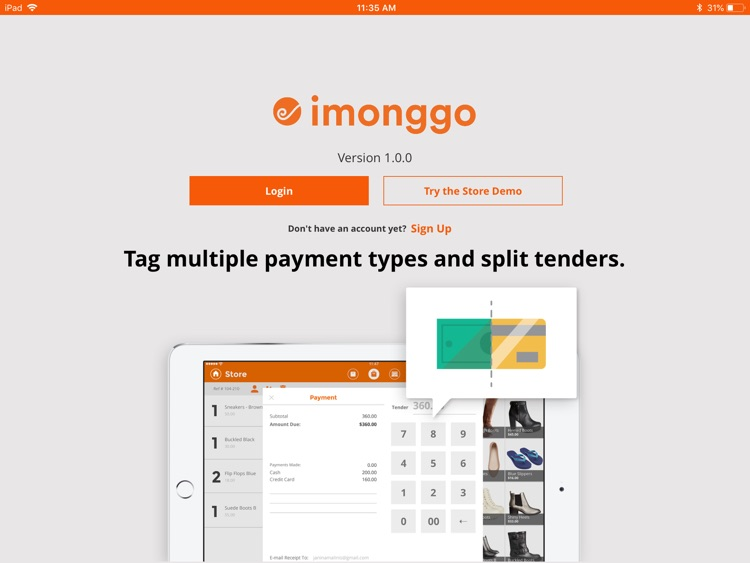 Point of Sale (POS) by Imonggo screenshot-1