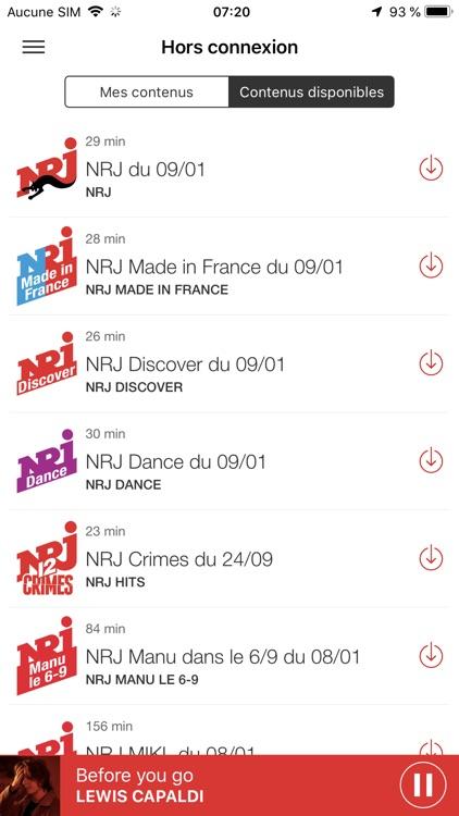 NRJ Radio screenshot-7
