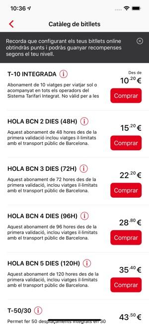 TMBAPP (Metro Bus Barcelona) on the App Store
