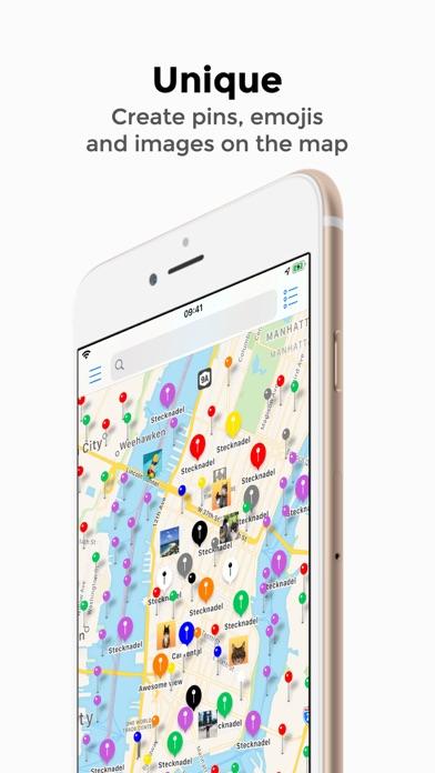 Pin365 - Your travel map Screenshot