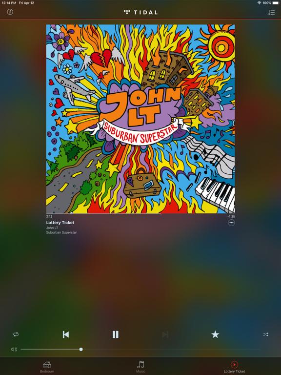 HEOS iPad app afbeelding 4