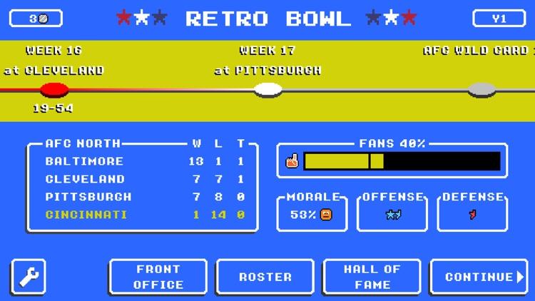 Retro Bowl screenshot-5