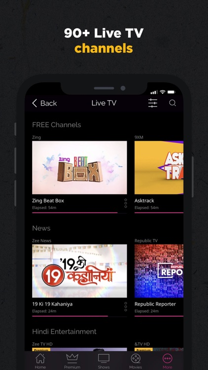 ZEE5 - Shows Live TV & Movies screenshot-3