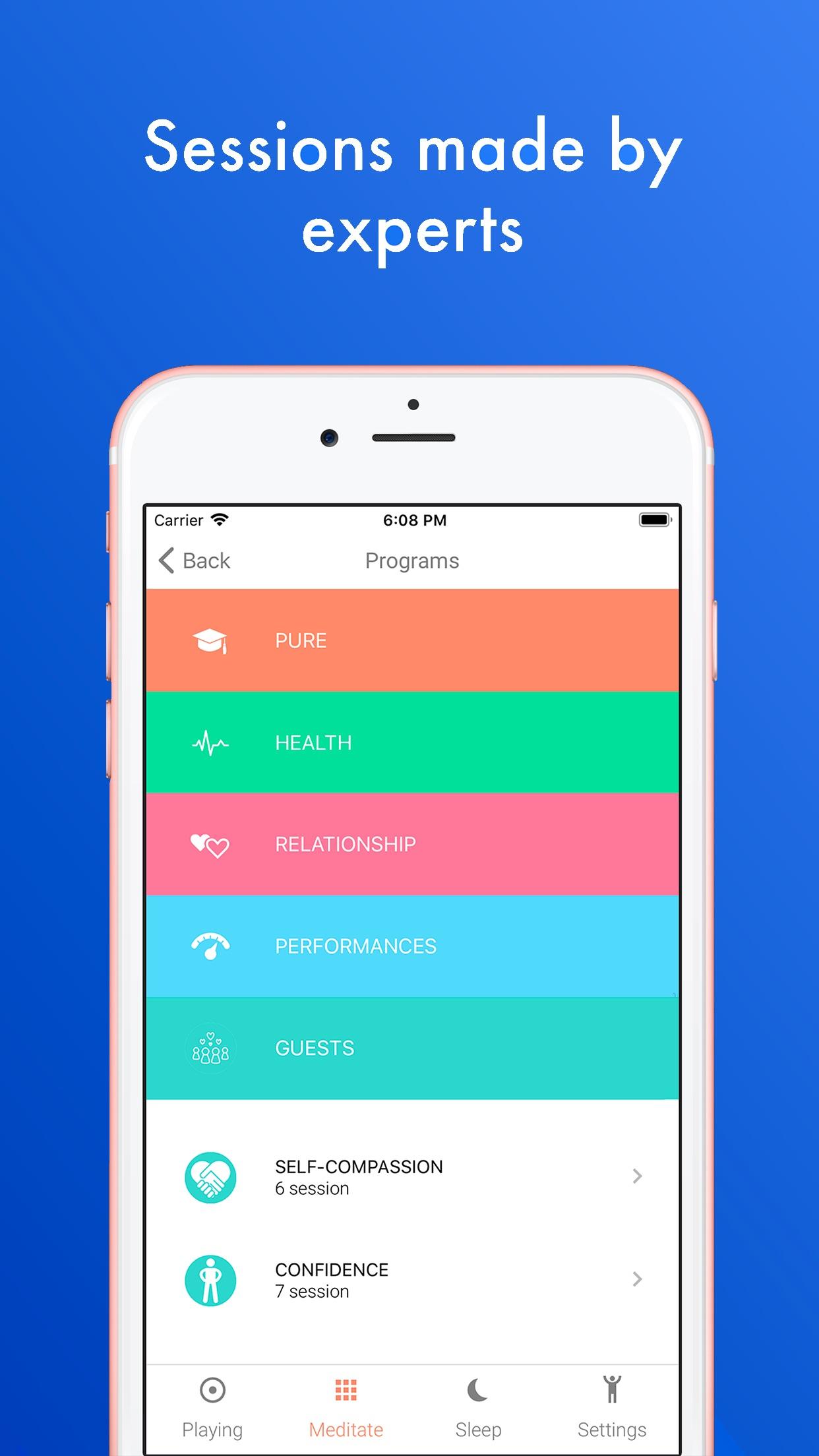 Namatata, Meditation & Sleep Screenshot
