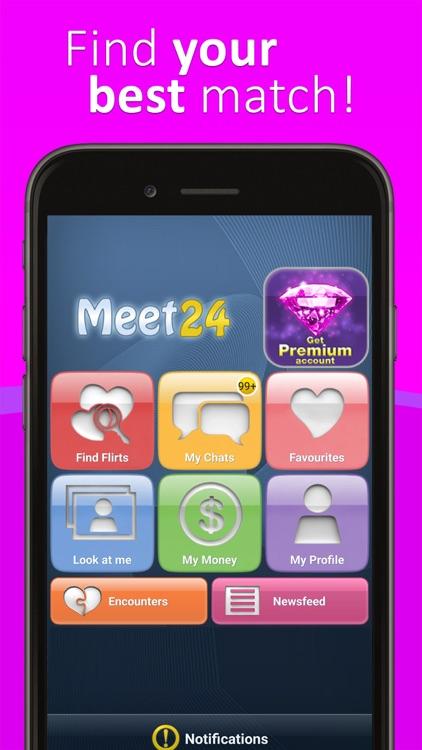 Meet24 - Flirt, Chat, Singles screenshot-4